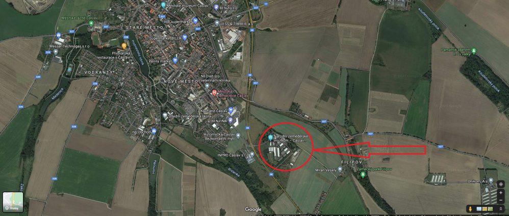 Muzeum Lokace   VOŠ, SPŠ a OA Čáslav